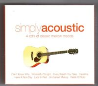 (HY413) Simply Acoustic, 60 tracks various artists - 2004 Boxset CD