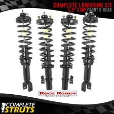 "92-95 Honda Civic Quick Complete Struts Performance Lowering Kit 1.5"" Drop x4"