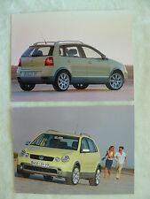 VW Polo Fun - Typ 9N - 2x Presse-Fotos press-photos 09.2003  (V0100