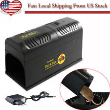 New Electronic Mouse Rat Rodent Killer Electric Trap Zapper Pest Control  -US