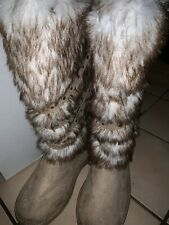 J. New Size 8 Just Fab Boot Fur Over The Calf
