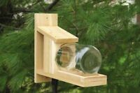SQUIRRELS  - GIFTS FOR SQUIRREL LOVERS - Squirrel Jar Feeder  - SESCS412