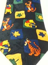 Winnie the Pooh and Tigger Autumn Leaves Honey Pot Necktie Disney Tie