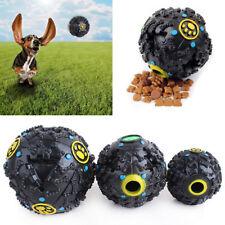 Baoblaze Pet Dog Play Squeaky Squeaker Quack Sound Chew Treat Holder Ball Toy