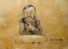 Ludwig Scheuermann Professor Heinrich Kiliani Sklave Zigarre Ethik Chemiker