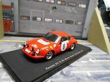 PORSCHE 911 S ST Rallye Monte Carlo 1970 #6 Winner Waldegaard Shell Spark 1:43