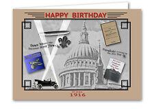 104th Birthday Card Souvenir of 1916 (2020)