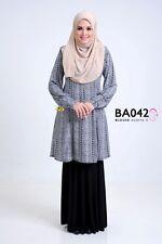 Muslim Women Blouse Long Sleeve / Nursing Friendly / Lycra Korea