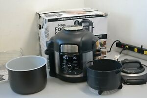 Ninja Foodi FD402 8qt 9-in-1 Deluxe XL Digital Multi Cooker Air Fryer 25D1 READ