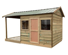 Cubby House - Wooden - SAND SHACK - with undercover Sandpit