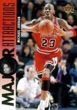 Carte card NBA Upper Deck 1995 #341 Major Attractions MA Michael JORDAN BULLS