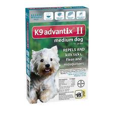 K9 Advantix II for Medium Dog 11-20 lbs - 6 Pack (US EPA Approved)