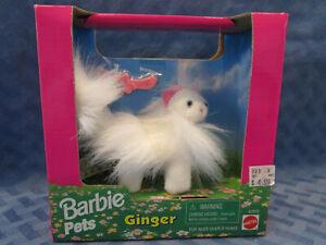 Barbie Pets Ginger, White Persian Cat, 1996, # 67572, NRFB