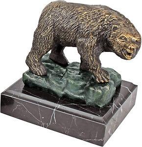 Design Toscano The Bear of Wall Street Cast Iron Statue, Bronze