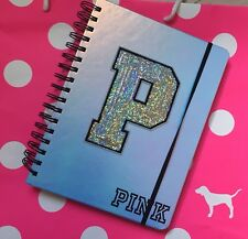 NWT! VICTORIA'S SECRET PINK STUDENT PLANNER 2018-2019~ IRIDESCENT WITH BLING!