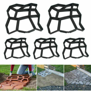 Forma per Lastricato Marciapiede Betonpflaster DIY Gieß Forma Giardino Stencil