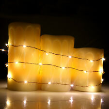 120LED 20ft Warm White Color Bendable Micro Copper Wire String Fairy Light