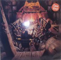 VINILE TRASPARENTE LP MAGNUM - ON A STORYTELLERS'S NIGHT 33 GIRI 1985 UK ROCK