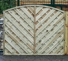 Fencing Panels - 1.8m x 1.8m St Lunairs - Wood Fence Panels brand new