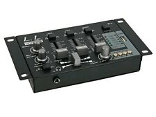 TABLE DE MIXAGE USB MIXER STEREO 2 CANAUX 2 VOIES 2 ENTREES MICRO 1 ENTREE USB