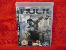 *ps3 INCREDIBLE HULK The Official Videogame (NI) FREE ROAMING PAL UK REGION FREE