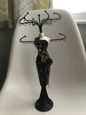 Nini Jewellery Organiser Stand Display. Mannequin Necklace Holder