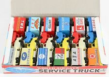 Tin Toy Friction -  SIMAZAKI - 12 x World airways service truck  -Boxed-