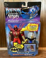 Batman Ally Azrael Vintage Knight Force Ninjas Action Figure New 1998 Kenner 90s