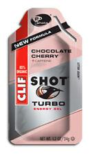 Clifbar Clif Shot Energy Gel Choc Cherry Turbow/100Mg Caffeine Box of 24