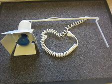 Strahler weiß für Tisch/Universalbef. mit Blendklappen für Fotobeleuchtung usw.