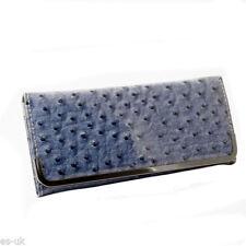 Portafogli e borsellini da donna blu in pelle sintetica