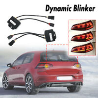 For VW Golf 7 2012-2018 Dynamic LED Taillights Turn Signal Indicator Tail   !!