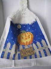 Halloween Crochet Kitchen Towel ~ **Gift Idea