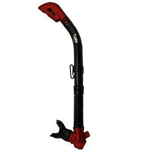 Promate SK680 Cobra Totally Dry Snorkel Silicone Mouthpiece Scuba Dive Whistle
