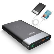 Vinsic 20000mAh External Battery Power Bank CellPhone Mate QC 3.0 Fast Charge WJ