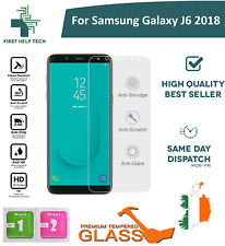 For Samsung Galaxy J6 2018 - Premium Tempered Glass Screen Protector Guard