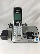 Uniden D1680 DECT6.0 Silver Cordless Phone Answering Machine Base W/ Handset