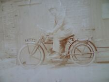 TERROT CIRCA 1920 PHOTO MOTO ANCIENNE OLD MOTORCYCLE