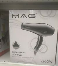 MAG professional hair dryer with speed and temperature setting