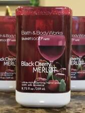 3 Bath & Body Works Gentle Foaming Hand Smart Soap Refill Black Cherry Merlot