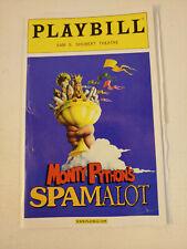 MONTY PYTHON'S SPAMALOT Playbill Nov 2005 David Hyde Pierce Tim Curry Azaria