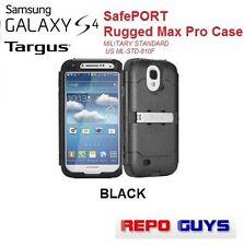 TARGUS SAMSUNG GALAXY S4: SafePORT Rugged Max Pro Case MILITARY STANDARD - BLACK