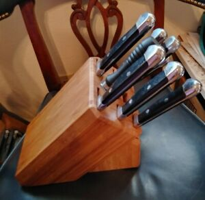 ROYAL PRESTIGE PRECISION II SERIES KNIFE SET & BLOCK