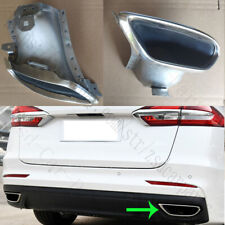 1x For Ford Mondeo Fusion 2013-18 Rear Bumper Right Stainless steel Tail Throat
