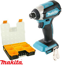 "Makita DTD153Z 18V Impact Driver With 12""/31cm Tool Organiser Box & Compartment"