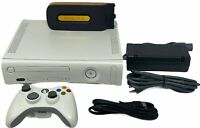 Microsoft Xbox 360 Console with 20GB Halo HD Controller and Cables -Fully Tested