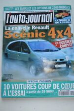 AUTO JOURNAL 531 1999 SCENIC 4X4 POLO TOYOTA CELICA MERCEDES E 220 OMEGA ASTRA