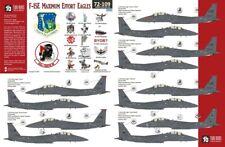 NEW 1:72 Two Bobs Decals 72109 McDonnell F-15E Eagle 'Maximum Effort Eagles'