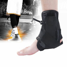 New Adjustable Sports Protective Sprain Ankle Compression Support Wrap Brace HR