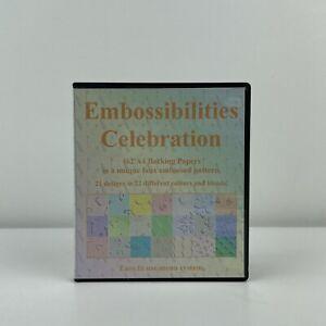 Embossibilities Celebration CD ROM Sharon Duncan Crafts